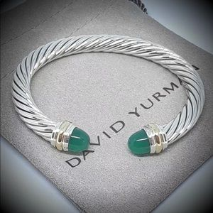 David Yurman Green Onyx Cuff